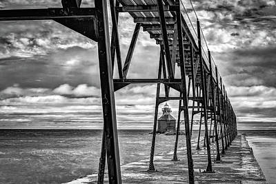 Photograph - Distant Lighthouse  by David Heilman