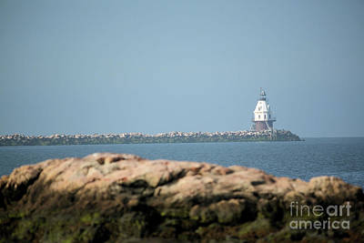 Photograph - Distant Lighthouse by Karol Livote