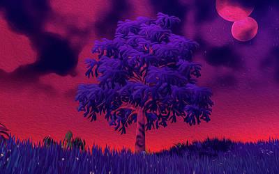 Digital Art - Distant Nebula by Andrea Mazzocchetti