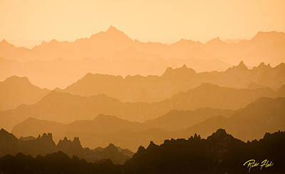 Photograph - Distant Ridges by Rikk Flohr