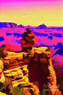 Photograph - Distant Shadows And Colors by Steven Parker