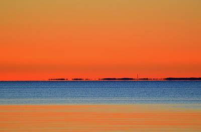 Photograph - Distant Shore Before Sunrise  by Lyle Crump