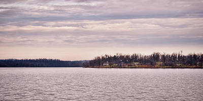 Photograph - Distant Shoreline by Greg Jackson