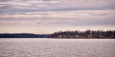 Photograph - Distant Shoreline by Greg Jackson