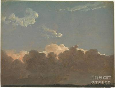 Storm Painting - Distant Storm by Celestial Images