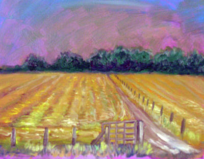 Painting - Distant Storm by Elaine Hines