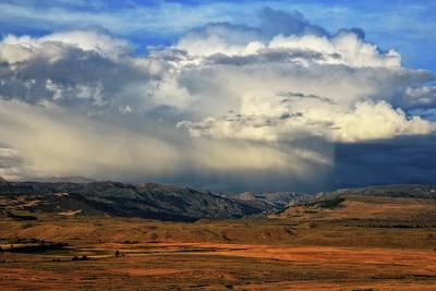 Photograph - Distant Summer Rainstorm by Katie Wing Vigil