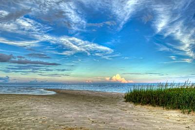 Florida Nature Photograph - Distant Thunderhead by Rich Leighton