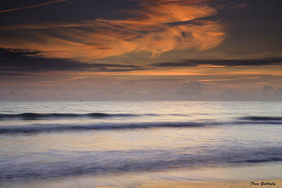 Photograph - Distant Vessel by Fran Gallogly