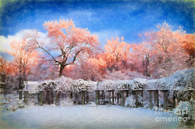 Painting - Distinctly Pink by Dan Carmichael