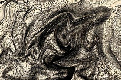 Distortion Art Print by Marnie Patchett