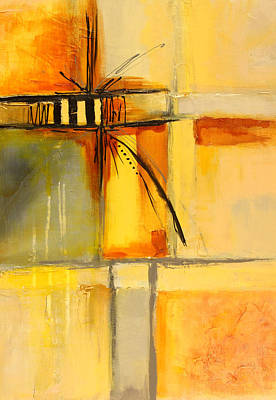 Painting - Distractions 1 Abstract Painting by Nancy Merkle