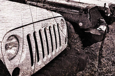 Photograph - Distressed Jeep Wrangler Jk by Luke Moore
