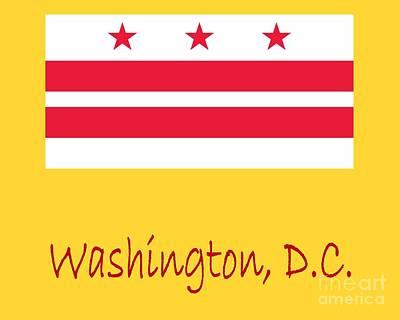District Of Columbia Flag Original
