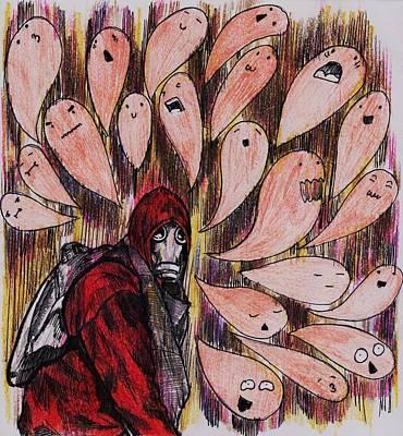 Creative Lovers Art Drawing - Disturb by Luq Saf Azri Luqman
