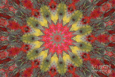 Digital Art - Disturbed Water Kaleidoscope by Donna Munro