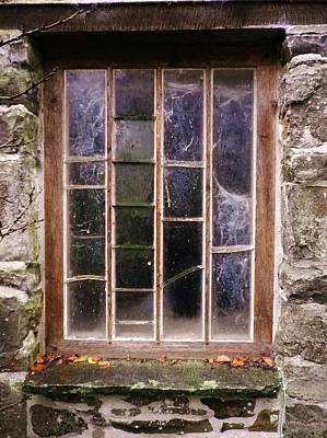 Photograph - Disused Watermill Window by Richard Brookes