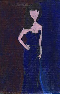 Dita Von Tesse Painting - Dita by Ricky Sencion