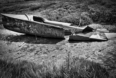 Photograph - Ditched by Keith Elliott