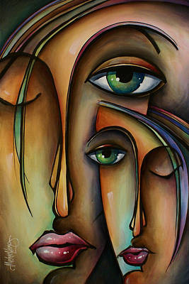 Earth Tones Painting - Ditto by Michael Lang