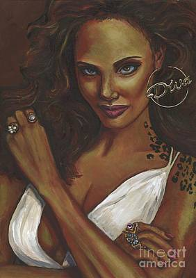 Painting - Diva by Alga Washington