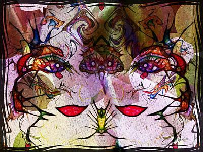 Digital Art - Diva Duo by Kiki Art