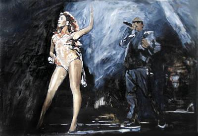 Lil Wayne Celebrity Painting - Diva by Jani Heinonen