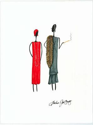 Divalicious Art Print by Bee Jay