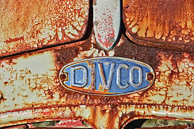 Photograph - Divco Badge by Mike Martin