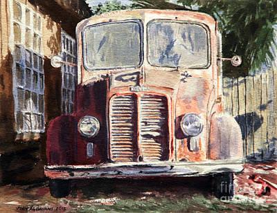 Divco Truck Art Print