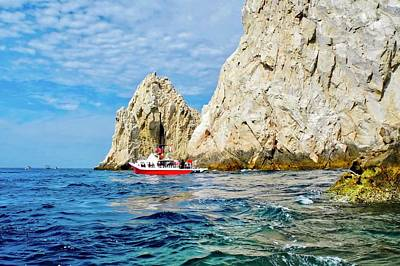 Dive Boat In Cabo San Lucas Art Print by Kirsten Giving