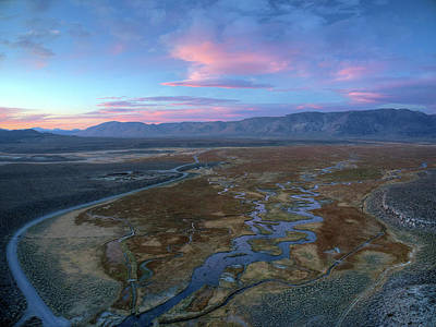 Owens River Photograph - Divergence by David Levy