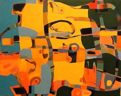 Painting - Diverging Pathways by Bernard Goodman