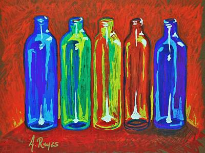 Painting - Diverse Individuality by Angel Reyes
