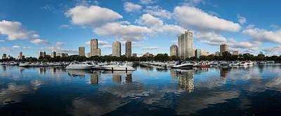Chicago Photograph - Diversey Harbor Chicago by Steve Gadomski