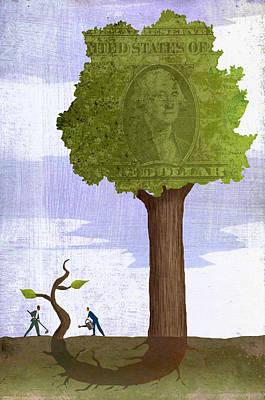 Tree Roots Digital Art - Diversify by Steve Dininno