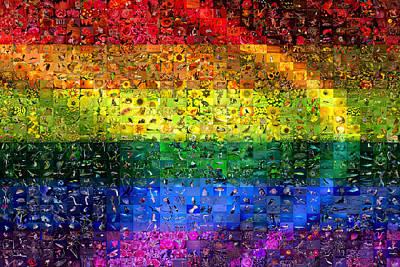 Transgender Digital Art - Diversity by Gilberto Viciedo