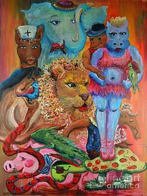 Diversity Print by Nadine Rippelmeyer