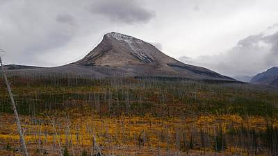 Photograph - Divide Mountain On A Stormy Autumn Day by Tracey Vivar