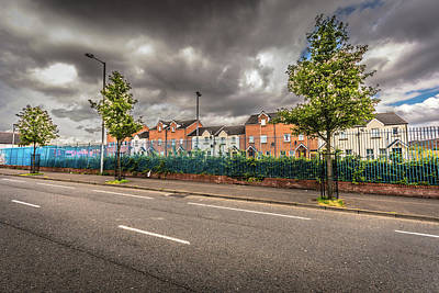 Photograph - Divided City by Bill Howard