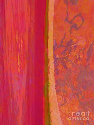 Divided Art Print by Robert Ball