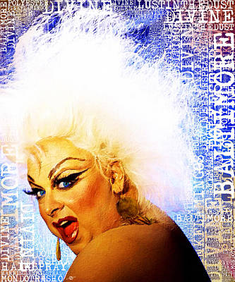 Divine 2 Art Print by Tony Rubino