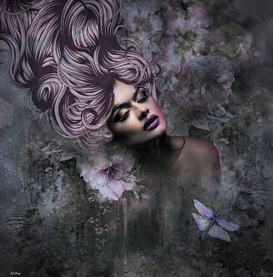 Erotica Mixed Media - Divine Beauty by G Berry