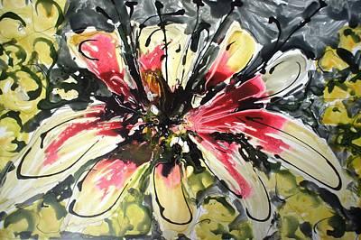 Ballerina Art - Divine Blooms-21070 by Baljit Chadha
