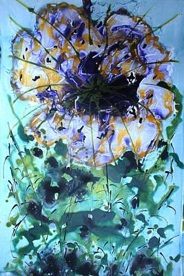 Granger Royalty Free Images - Divine Blooms-21350 Royalty-Free Image by Baljit Chadha