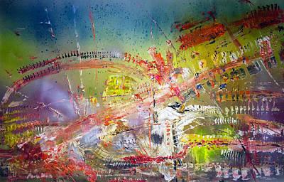 The Universe Painting - 'divine Colors Of Paradise' by Vincent Messelier