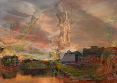 City Of Dubai Digital Art - 'divine David Of Bernini' by Vincent Messelier