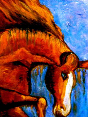 Divine Equine Art Print by Marie Hamby