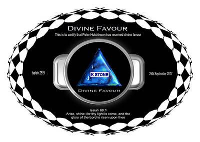 Digital Art - Divine Favour by Peter Hutchinson