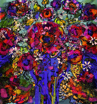 Painting - Divine Flowers by Natalie Holland